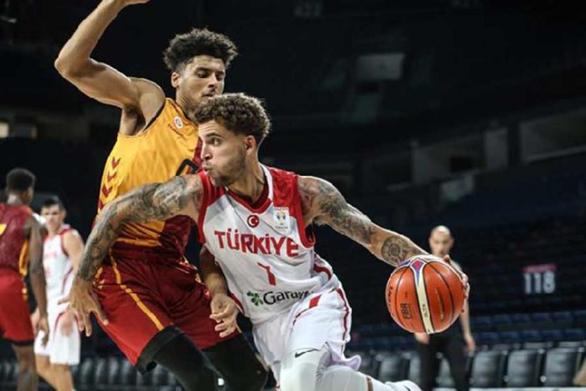 A Milli Takım, hazırlık maçında Galatasaray'ı 92-76 yendi