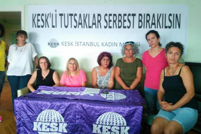 KESK İstanbul Kadın Meclisi: İşini istemek suç değildir