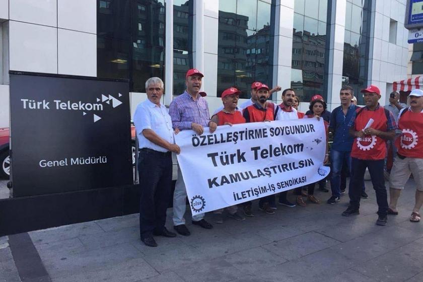 'Türk Telekom'da fatura emekçiye çıkmasın'
