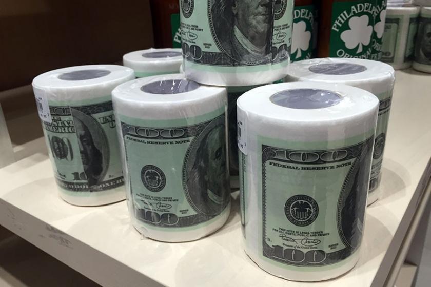 Dolar en çok arap sabunu ve tuvalet kağıdını vurdu