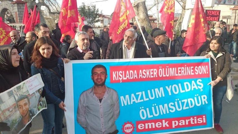 'Erdoğan'ın esnafı' Mazlum Aksu anmasına saldırdı