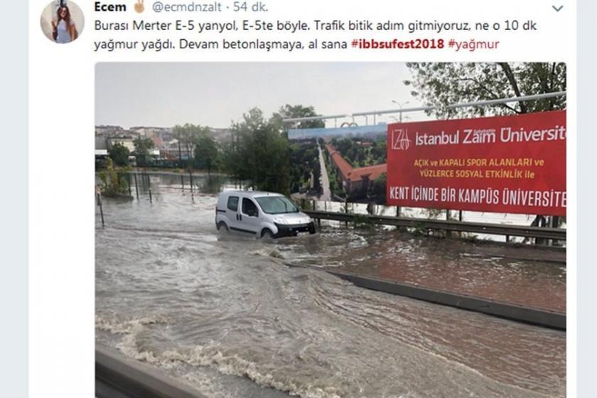 İstanbul Su Sporları Festivali, Twitter'da bu karelerle paylaşıldı