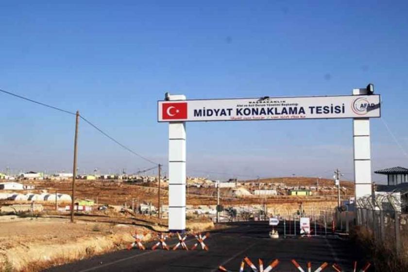 Midyat'taki mülteci kampı boşaltıldı