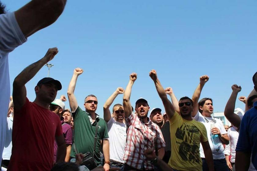 Cam işçileri: Bizimle değil Şişecam patronuyla pazarlık yapın