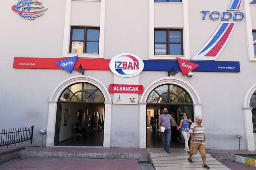 İzmir'deki raylı ulaşım aracı İZBAN'da bir kez daha greve doğru