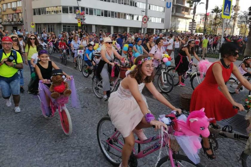 'Süslü Kadınlar' yarın pedal çevirecek