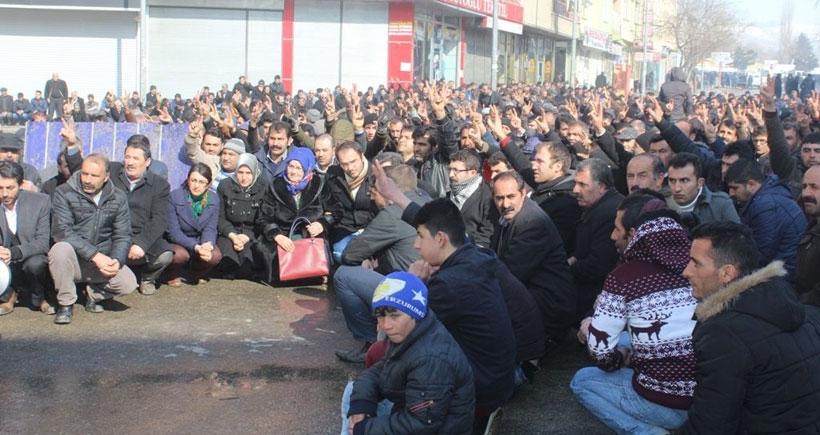 Erzurum'da ırkçı saldırılar protesto edildi