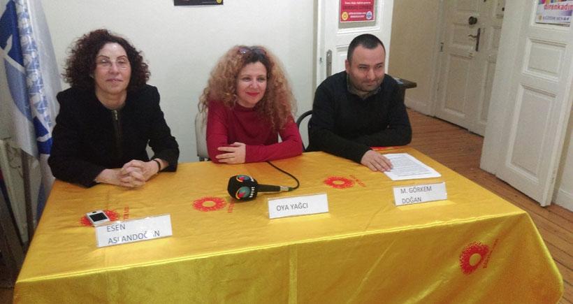 İşten atılan öğretim görevlisi Yağcı'ya destek: Hukuk istiyoruz