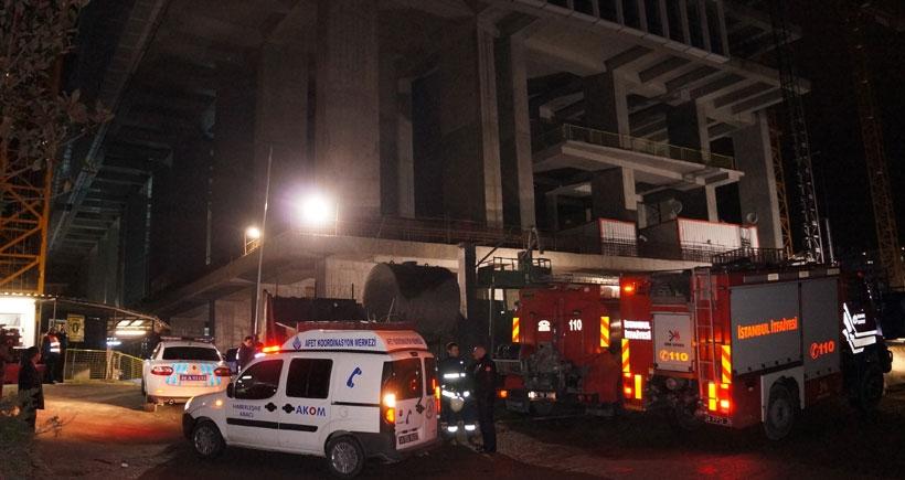 Şişli'de inşaatta iş cinayeti: 1 işçi öldü
