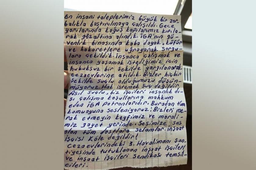 Tutuklanan 3. havalimanı işçisinin annesi: Çocuğumla gurur duyuyorum