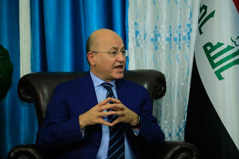 Irak'ın yeni Cumhurbaşkanı Salih, hükümeti kurma görevini verdi