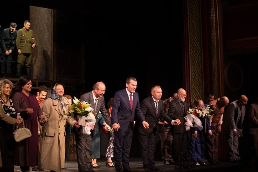 Devlet Tiyatroları, sezonu Necip Fazıl'ın 'Reis Bey' oyunuyla açtı