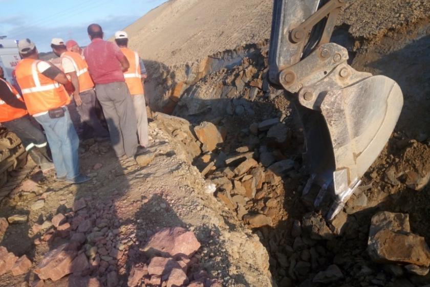 Kuzey Marmara Otoyolu inşaatında göçük: 2 işçi yaralı