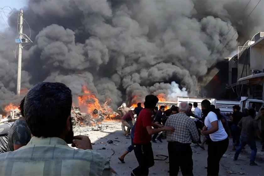 Azez'de patlama: 5 ölü, 27 yaralı
