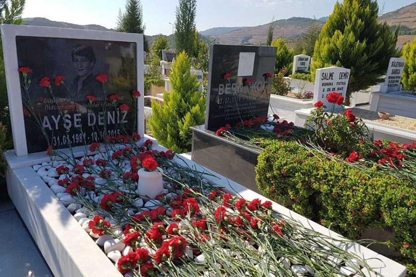 İzmir'de 10 Ekim'de yaşamını yitirenler anıldı