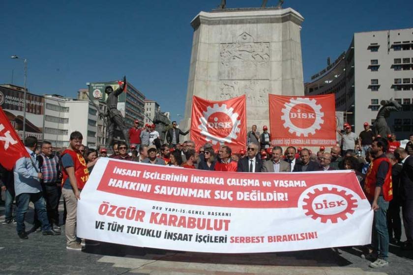 3. Havalimanı işçilerini serbest bırakın çağrısı
