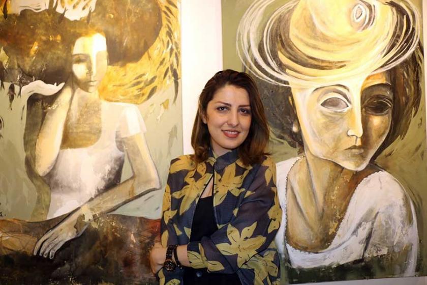 İranlı kadın ressam Ghaderi: Buradaki kadınlarla duygularımız yakın