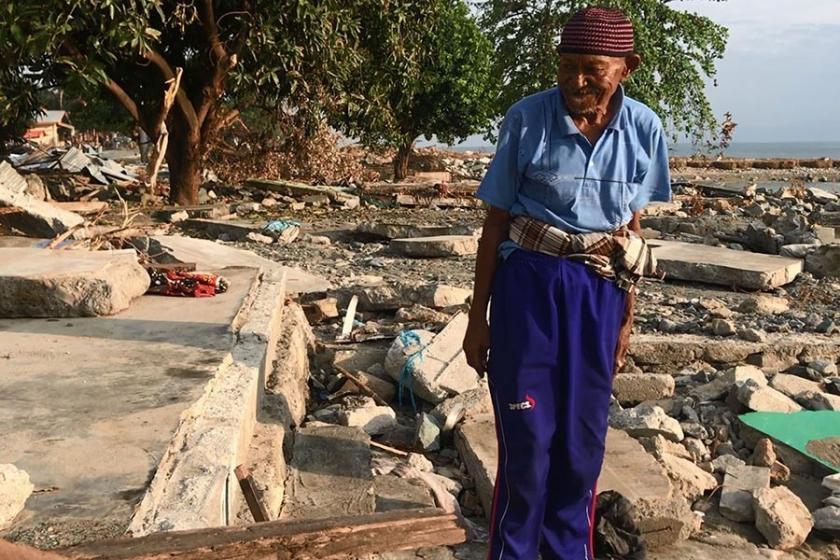 Endonezyalı depremzede tsunami felaketini anlattı