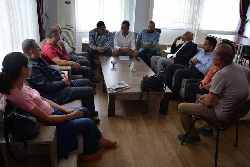 EMEP, emek örgütlerine ziyaretlerini sürdürüyor