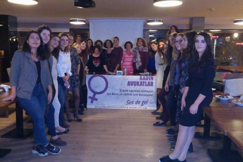 Kadın avukatlar cinsiyet körü olmayan bir baro istiyor