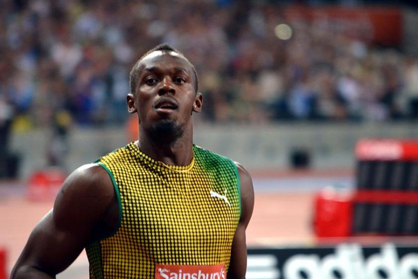 Usain Bolt ilk kez golle tanıştı