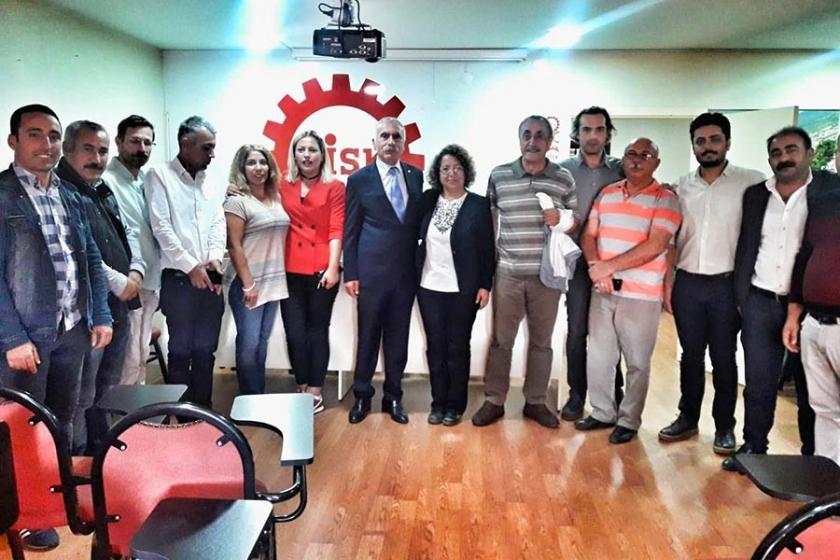 EMEP İzmir'den DİSK ve Tabip Odası'na ziyaret