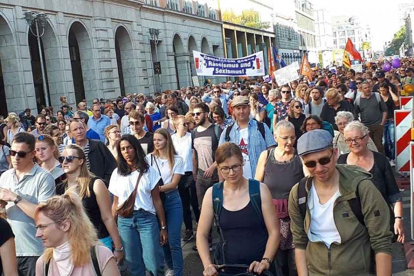 Kadına yönelik şiddet Almanya'da da farklı değil