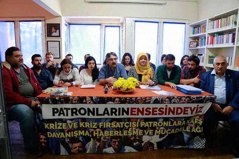 TKP'nin çağrısıyla işçi dayanışma ağı kuruldu