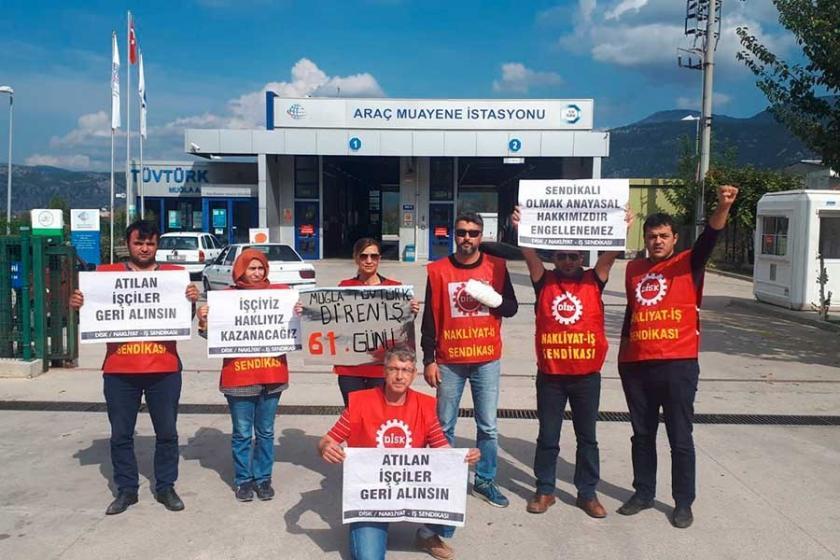Direnişteki TÜVTÜRK işçileri: Herkesi dayanışmaya çağırıyoruz
