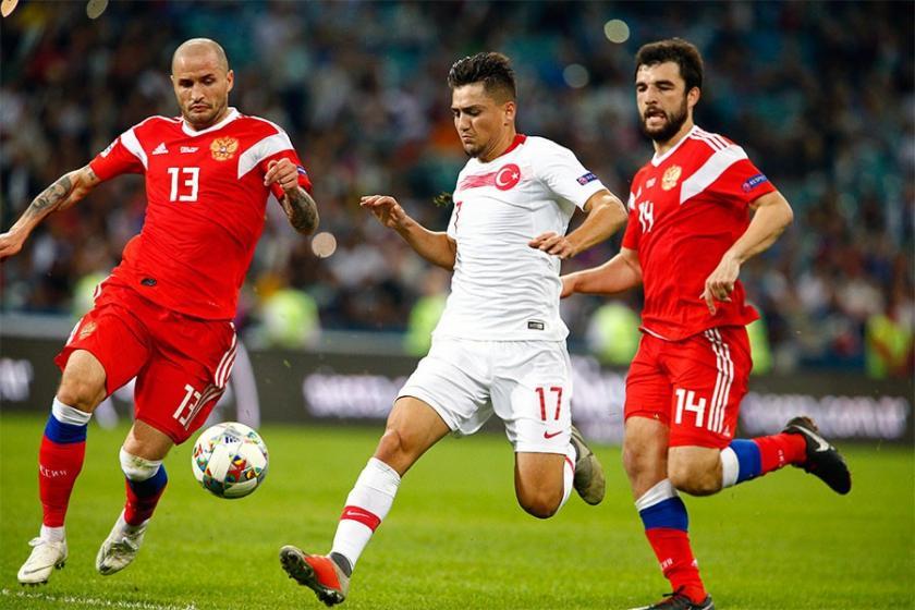 Türkiye Rusya'ya 2-0 mağlup oldu
