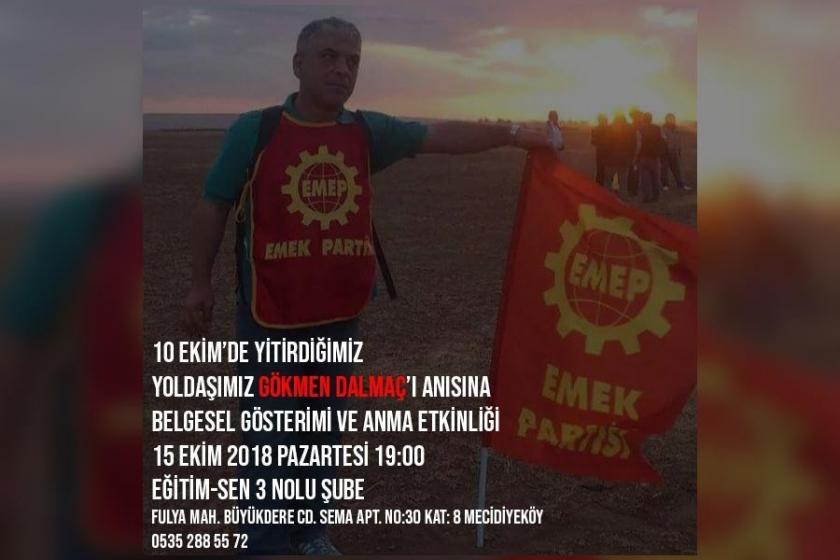 Ankara Katliamında yaşamını yitirenler anılıyor