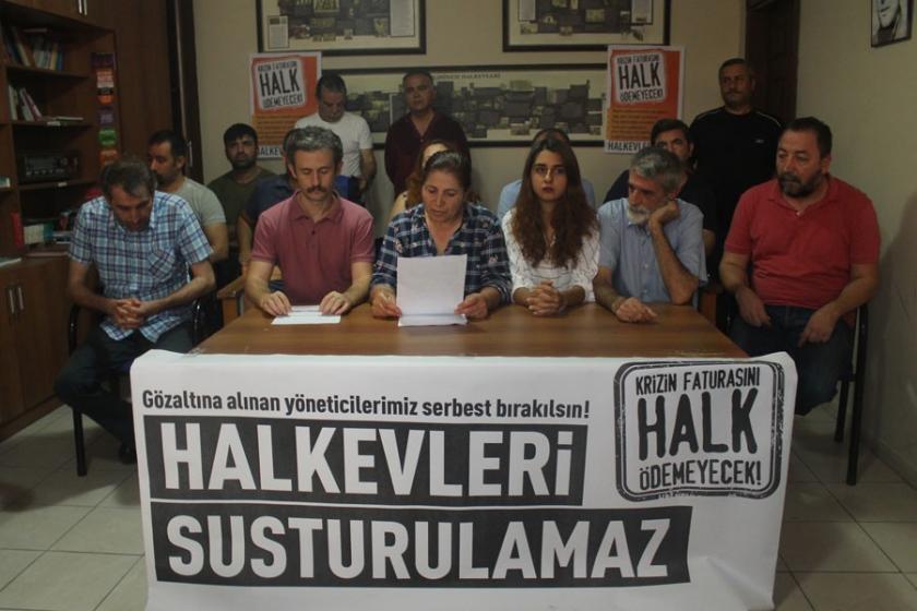 Halkevleri operasyonuna Adana'dan tepki: Nafile bir çabadır