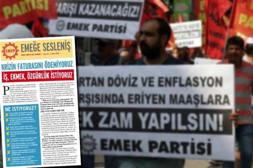 Adana'da parti bülteni dağıtan 5 EMEP'li gözaltına alındı