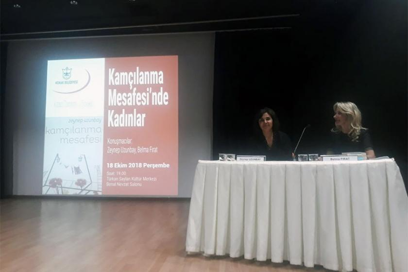 'Kamçılanma Mesafesi'ndeki kadınlar konuşuldu