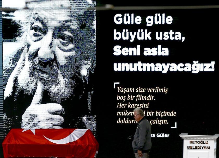 Ara Güler, son yolculuğuna uğurlandı