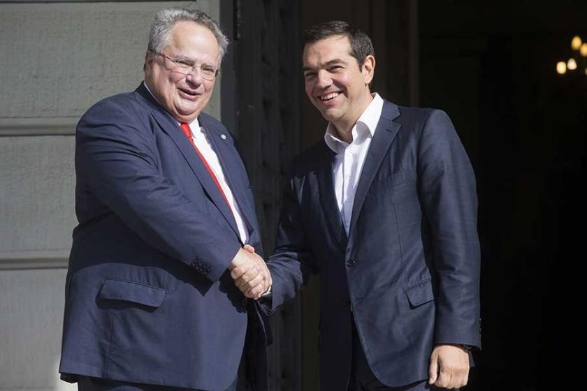 Aleksis Çipras resmi olarak Yunanistan Dışişleri Bakanlığını üstlendi