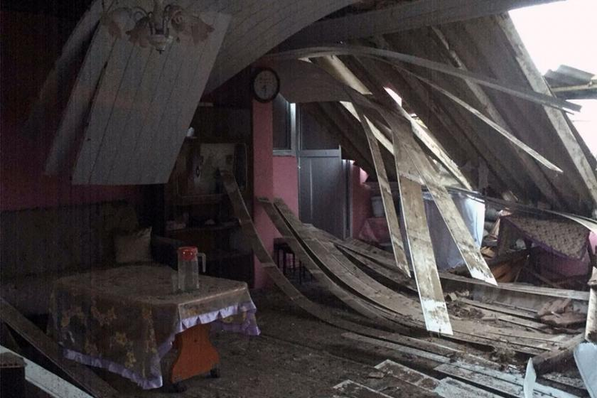 Balıkesir'de gaz sızıntısı nedeniyle patlama: 1 ölü, 1 yaralı
