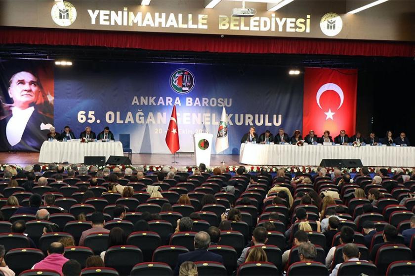 Saldırıların yaşandığı Ankara Barosu seçiminde Erinç Sağkan seçildi
