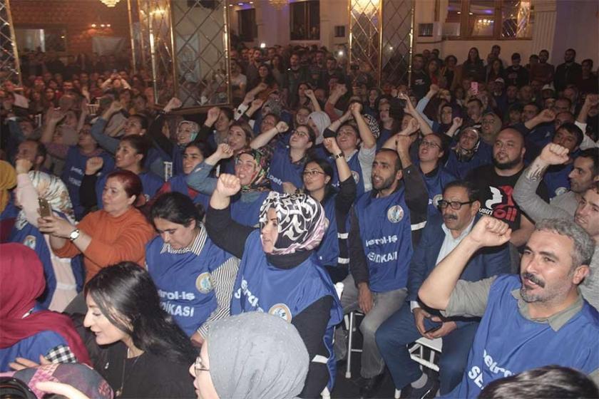 Flormar işçileriyle dayanışma gecesi düzenlendi