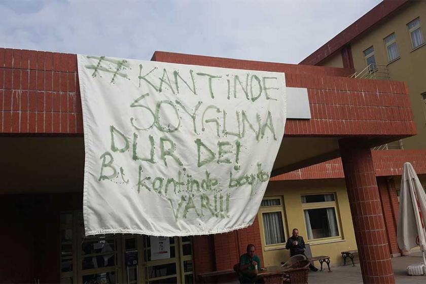 Maltepe Üniversitesinde kantin boykotu