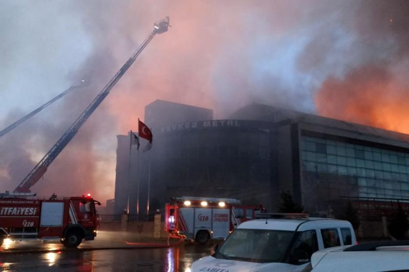Esenyurt'taki fabrika yangınıyla ilgili 2 işçi gözaltına alındı