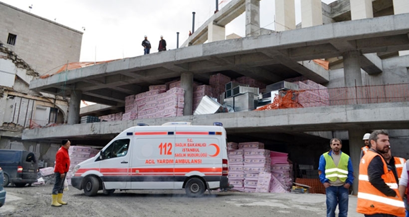 Vodafone Arena'da iş kazası