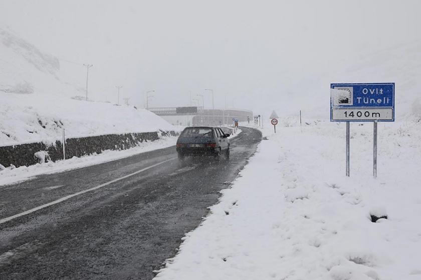 Doğu Anadolu Bölgesi'nde buzlanma ve don uyarısı
