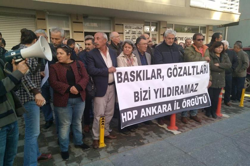 HDP Ankara İl Örgütü: Gözaltına alınanları bırakın