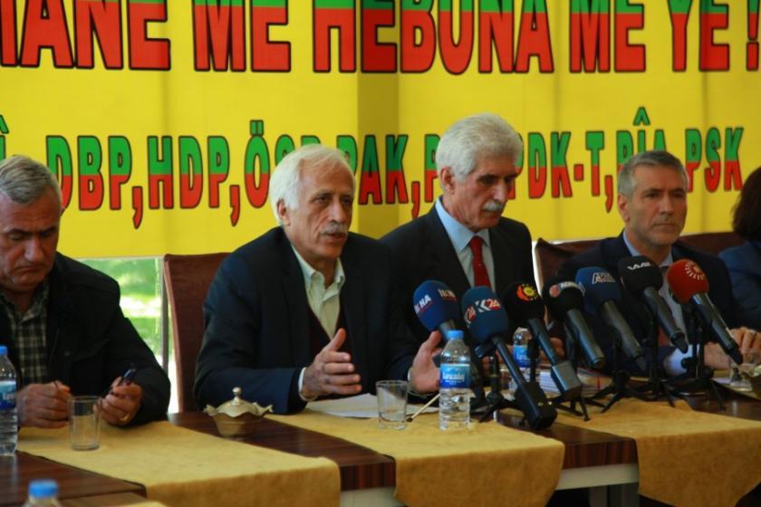 9 parti Kürtçe için platform kurdu
