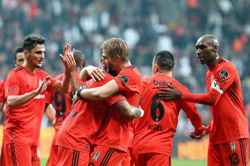 Beşiktaş 2 hafta sonra kazandı