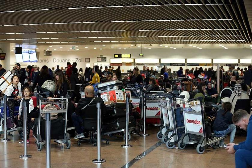 Brüksel Havalimanı'nda grev devam ediyor