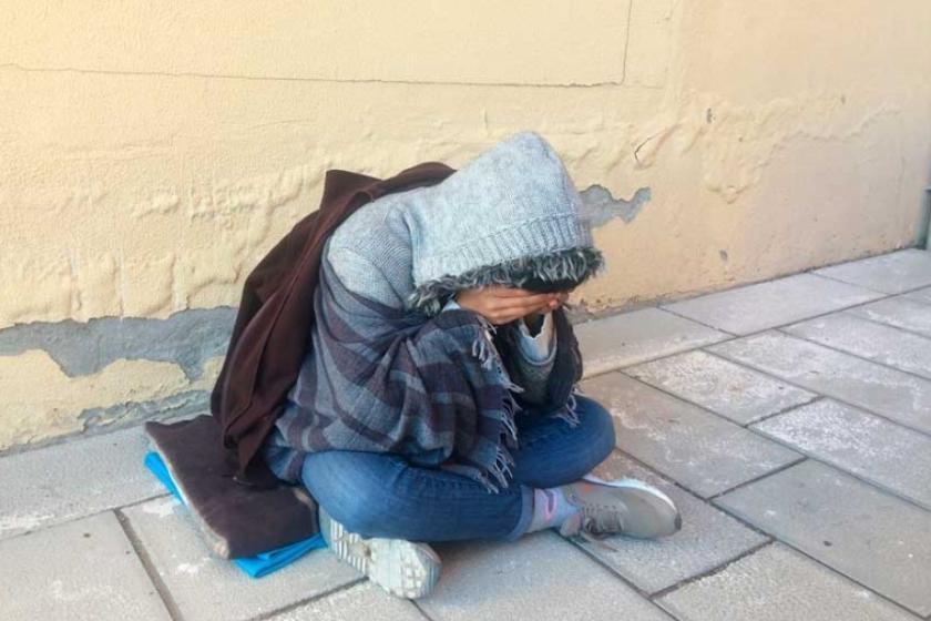 BM önünde oturma eylemi yapıyordu: Derya'dan haber alınamıyor