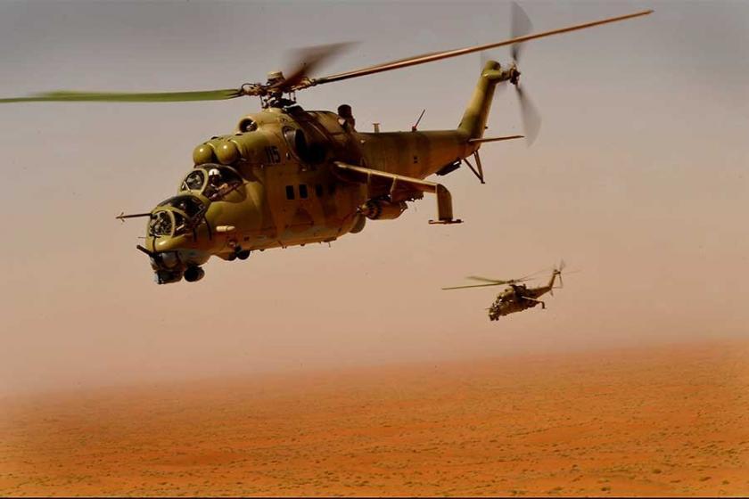 Afganistan'da askeri helikopter düştü: 25 kişi yaşamını yitirdi