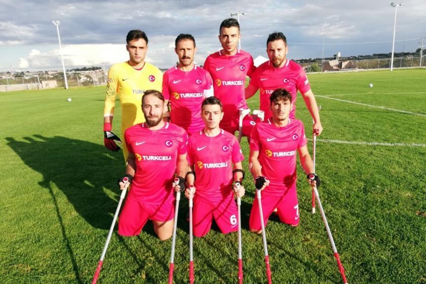 Ampute Futbol Milli Takımı, dünya ikincisi oldu